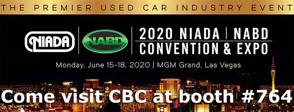 Come see CBC at NIADA 2020 June 15 - 18 at the MGM in Las Vegas!